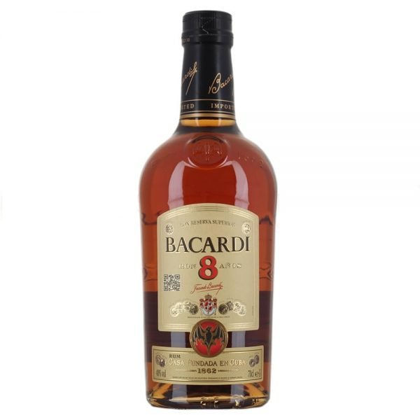 Bacardi reserva superior 8 years