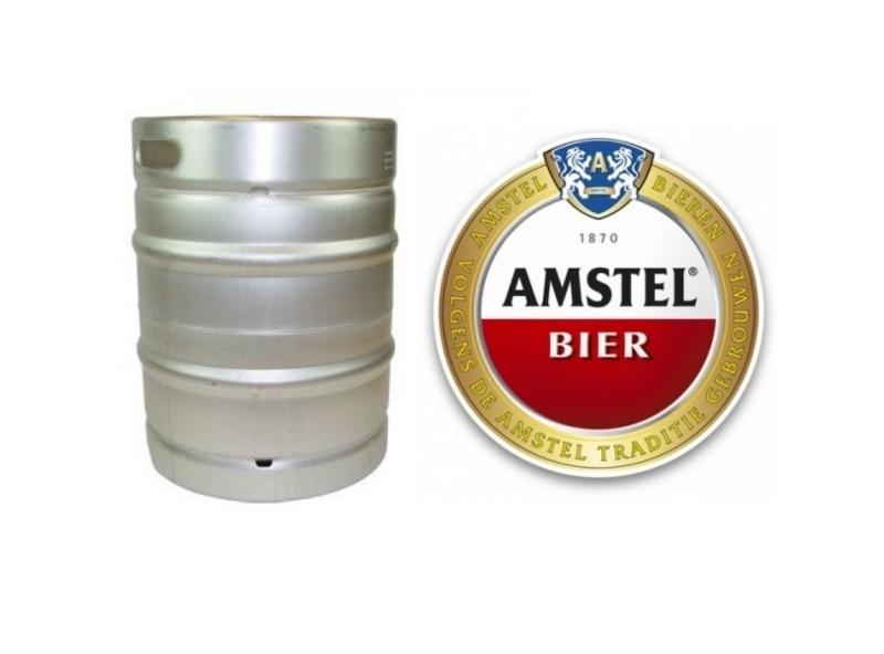 Amstel fust met logo