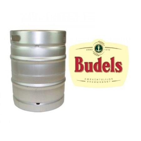 Budels fust met logo