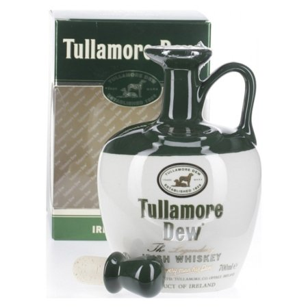 Tullamore Dew in kermamic vaas