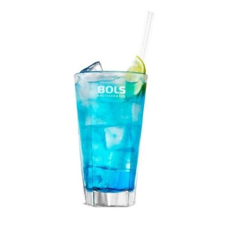 Bols Blue Curacao met 7 Up