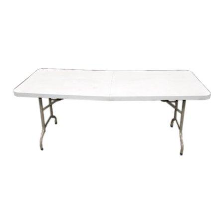 Rechthoekige Witte (klap) tafel 183 x 76 cm