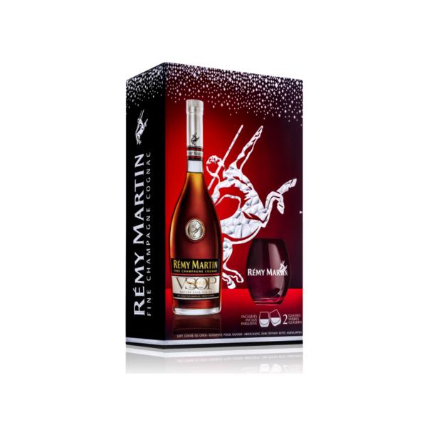 remy martin cadeau glazen cognac