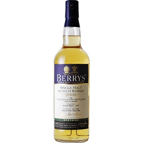 Berrys own selection craigellachie 2000