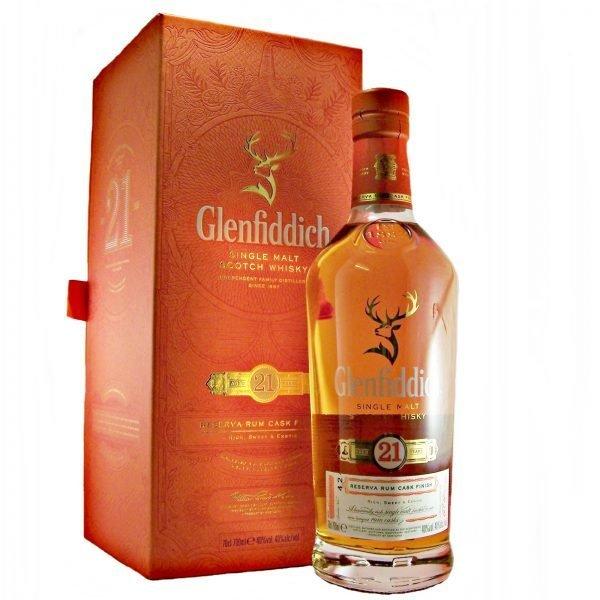 Glenfiddich 21 Years rum cask finish