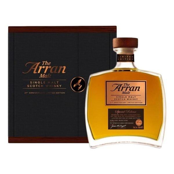 Arran 21st anniversary whisky 70cl