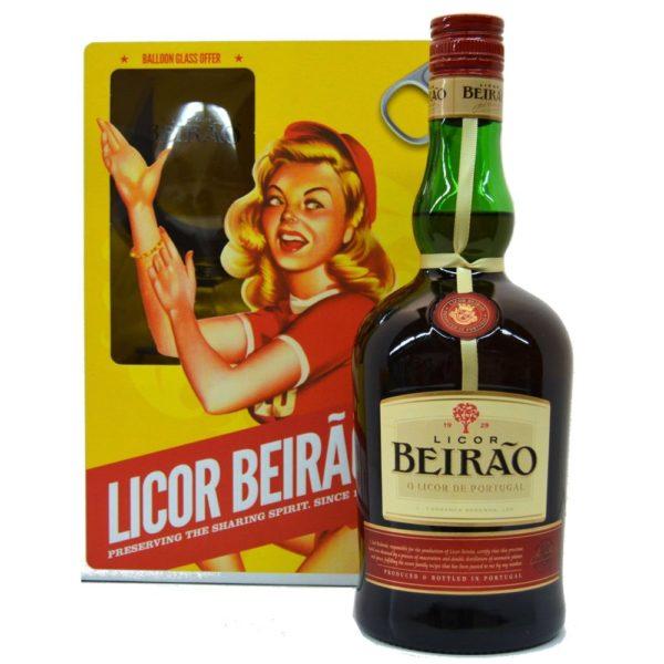 Licor Beirao giftset