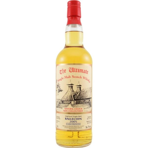 Ultimate Ballechin cask strenght 2005 11 Years