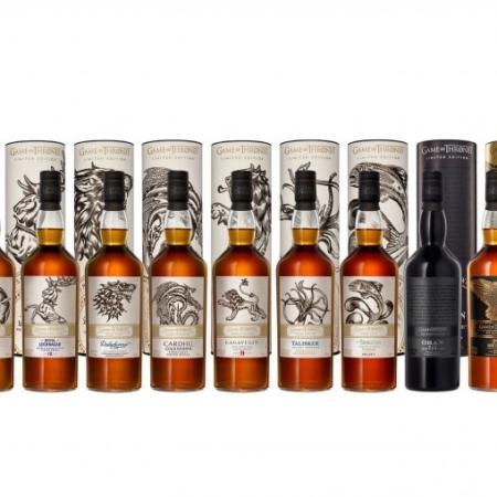 Game of Thrones Whisky Volledige Collectie 9 flessen