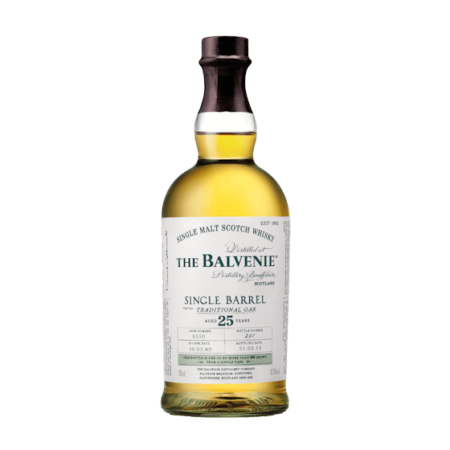 Balvenie 25 Years Single Barrel Traditional Oak 70cl 47,8%