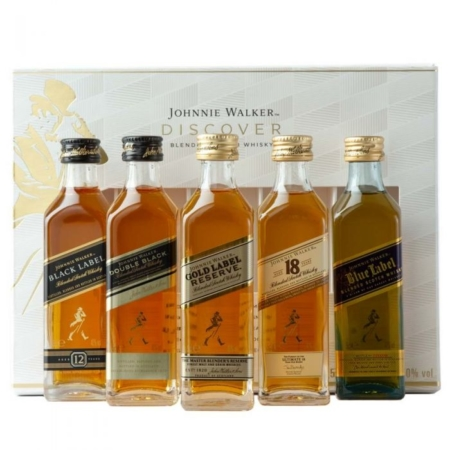 Johnnie Walker Discover Giftset 5x5cl