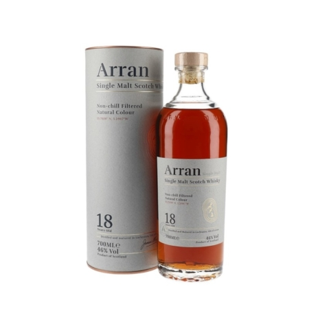 Arran Whisky 18 Years 70cl 46%