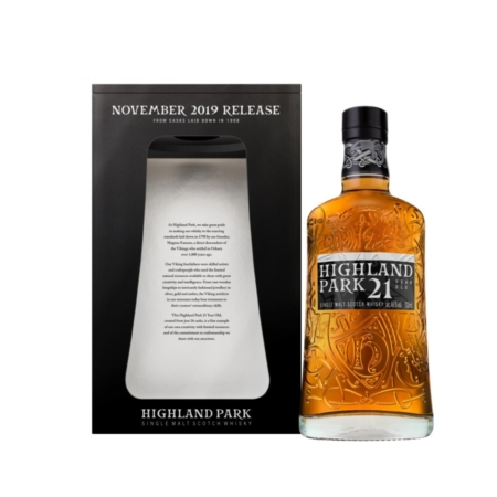 Highland Park Whisky 21 Years November 2019 Release 46% 70cl