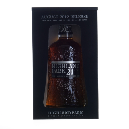 Highland Park Whisky 21 Years August 2019 46% 70cl
