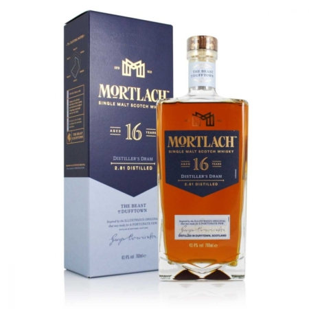 Mortlach Whisky 16 Years Distiller's Dram 70cl 43,4%