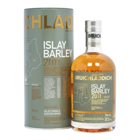 Bruichladdich Whisky Islay Barley 6 Years Oak Barrels Unpeated 2011 70cl 50%
