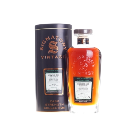 Linkwood Whisky 13 Years Sherry Cask Finish Signatory Vintage 2006-2020 70cl 58,4%