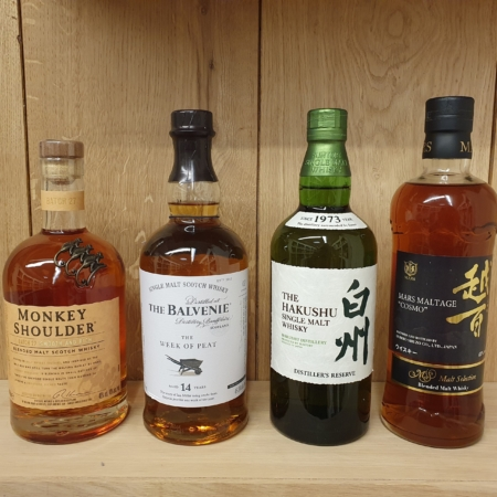 Samples Online Whiskyproeverij Zaterdag 6 Juni o.l.v. Tony van Rooijen en Niels Viveen