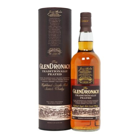 Glendronach Whisky Traditionally Peated 70cl 48%