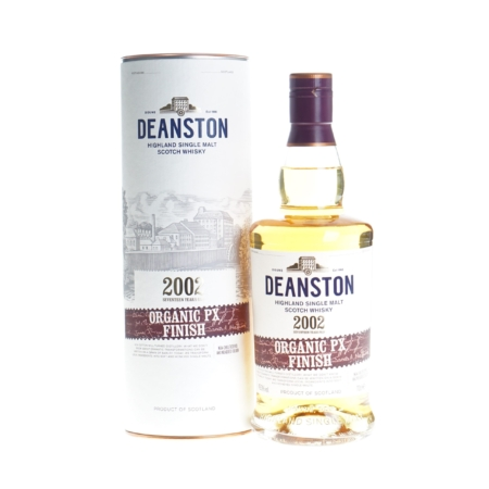 Deanston Whisky Organic PX Finish 2002 17 Years 70cl 49,3%