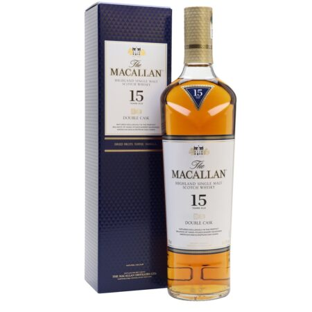 Macallan Whisky 15 Years Double Cask 70cl 43%