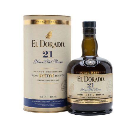 El Dorado Rum 21 Years 70cl