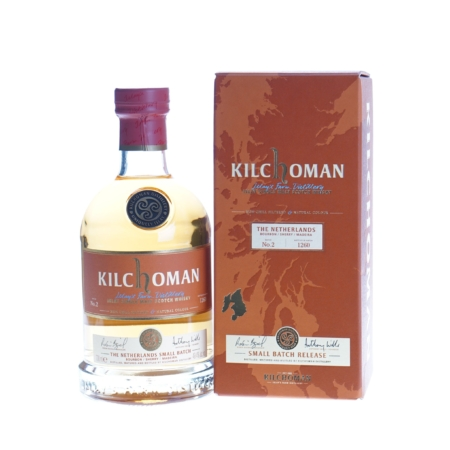 Kilchoman Whisky The Netherlands batch No 2 70cl 49,4%