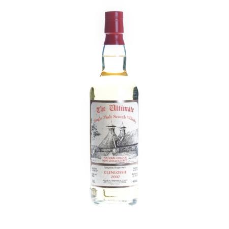 Ultimate Whisky Glenlossie 2007 12 Years Hogshead 70cl 46%