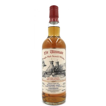 Ultimate Whisky Pulteney 2008 Sherry Cask Finish 70cl 56,6%