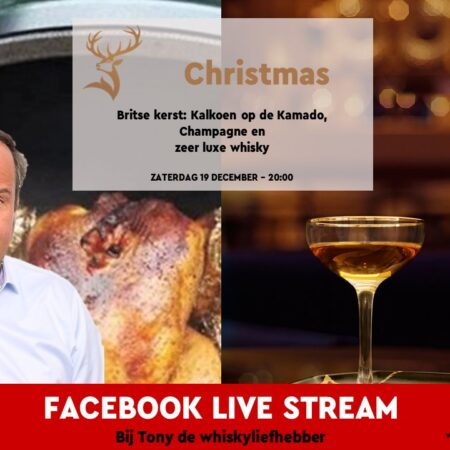 "Sample Set Online Whisky Tasting Zaterdag 19 December o.l.v. Tony van Rooijen ""Christmas"""
