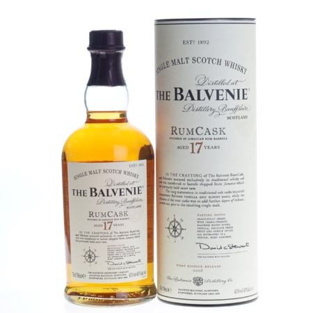 Balvenie Whisky RumCask 17 Years First Release 70cl 43%