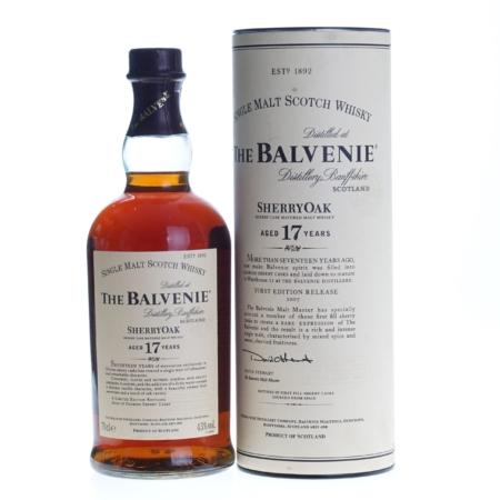Balvenie Whisky 17 Years SherryOak 70cl 43%