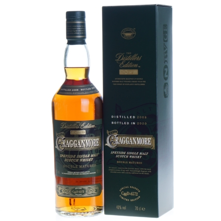 Cragganmore Whisky Distillers Edition 2008-2020 12 Years 70cl