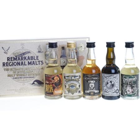 Douglas Laing's Whisky Remarkable Regional Malts 5x5cl