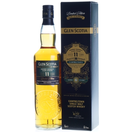 Glen Scotia Whisky 11 Years Sherry Double Cask Finish 70cl 54,1%