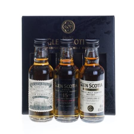 Glen Scotia Whisky Miniset 3x5cl
