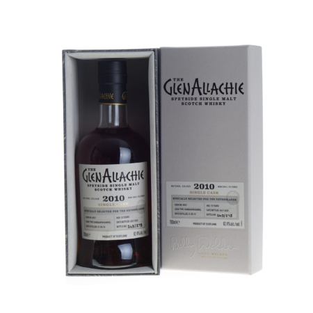 Glenallachie Whisky Single Cask 10 Years 2010 70cl 62,4%