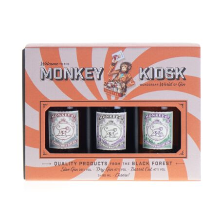 Monkey Gin Kiosk 3x50ml