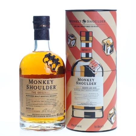 Monkey Shoulder Whisky Giftpack 70cl 40%