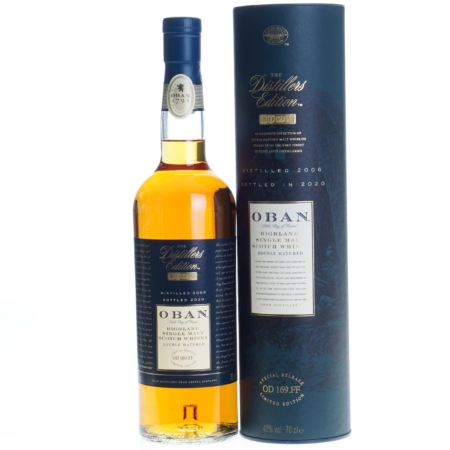 Oban Whisky Distillers Edition 2006-2020 14 Years 70cl 43%