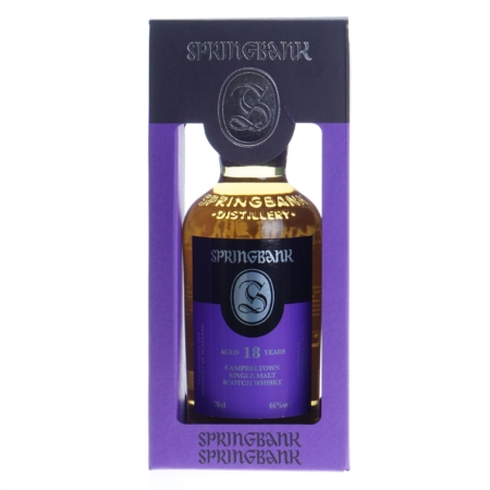Springbank Whisky 18 Years 46% 70cl
