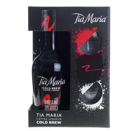Tia Maria Likeur 70cl met 2 glazen