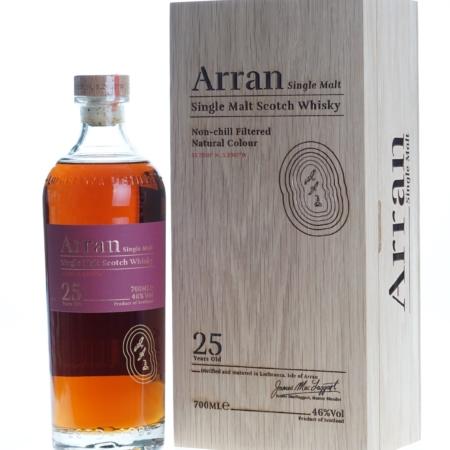 Arran Whisky Single Malt 25 Years 70cl 46%