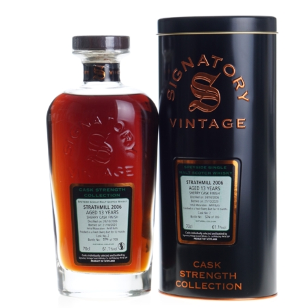 Strathmill Whisky 2006 Signatory Vintage 13 Years 70cl 61,1%