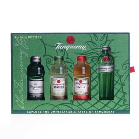 Tanqueray Gin Giftpack 4x5cl