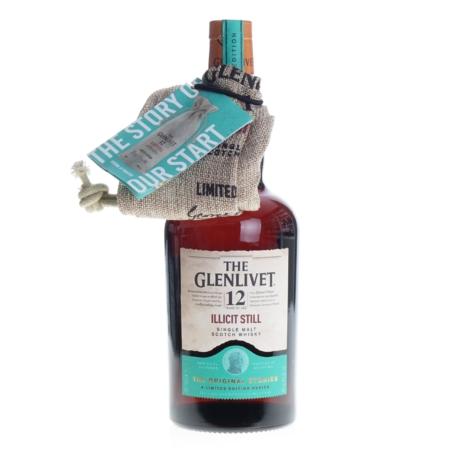 Glenlivet Whisky illicit Still 12 Years 70cl 48%