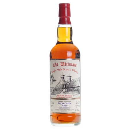 Ultimate Whisky Ballechin Cask Strenght 2008 11 Years 70cl 59,8%
