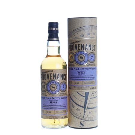 Arran Provenance Whisky 7 Years 2013- 2020 70cl 46%