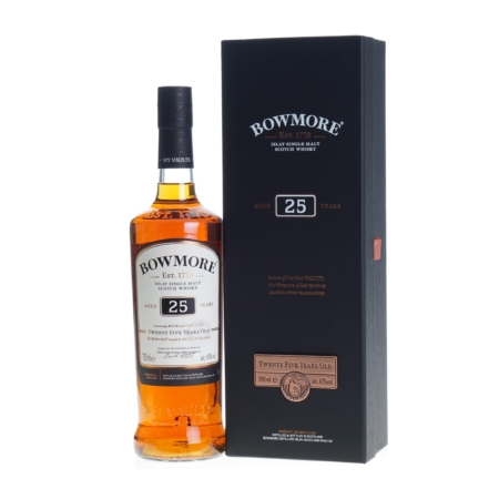 Bowmore Whisky 25 Years 70cl 43%