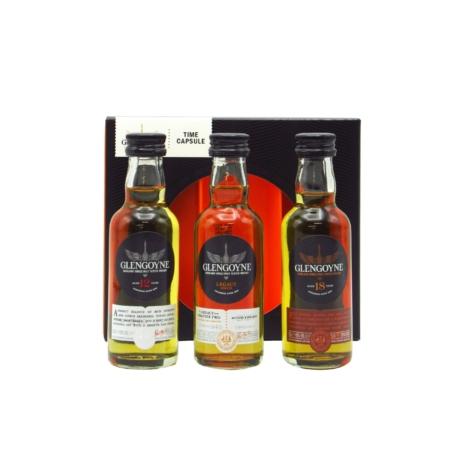 Glengoyne Whisky Time Capsule Giftpack 3x5cl